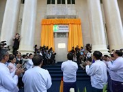 Myanmar opens first stock exchange