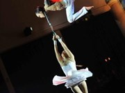 Acts of various types kick off regional young circus talent contest