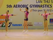 Vietnam lead at gymnastics qualifier