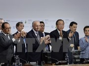 Vietnam welcomes COP21'S climate deal