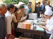 Hundreds of needy elders get free health check-ups