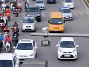 Hanoi detects traffic violations via cameras