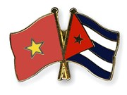 Vietnamese General greets Cuban guest