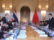 Thailand, China cement economic ties