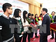 Needy students receive KF-Samsung scholarships