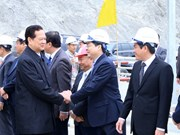 First Lai Chau hydropower turbine's operation celebrated