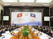 Vietnam-Laos intergovernmental committee holds 38th meeting