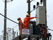Electricity comes to la H'Drai district