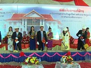 Vietnamese Consulate General in northern Laos builds new headquarters