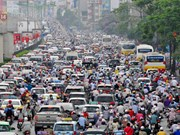 Hanoi plans measures to reduce traffic jams
