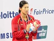 Swimmer Anh Vien named Vietnam's 2015 best athlete