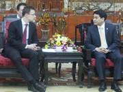 Hanoi leader welcomes Hungarian, Singaporean, UK officials