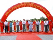 Ho Chi Minh Highway's last section in Ca Mau opens to traffic