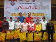 Campaign launched to give Tet gifts to the poor, AO victims