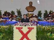 Laos pursues goals towards socialism