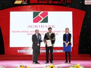 Agribank continues securing Top 10 of VNR 500