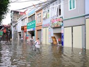 Can Tho supported to combat flood