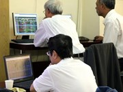 Vietnamese stocks up amid crude volatility