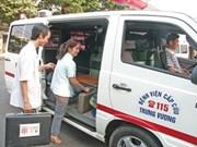 HCM City plans changes to 115 medical emergency hotline