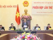 National Election Council convenes second session