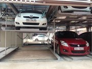 Hanoi operates new multi-storey car park