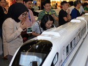 China's high-speed railway project in Indonesia suspended