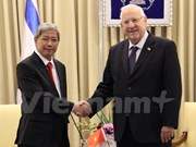 Israel wants to step up ties with Vietnam: President