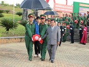 Binh Phuoc: Vietnamese volunteer soldiers' remains reburied