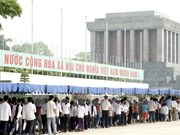 Ho Chi Minh Mausoleum records over 63,000 visitors during Tet