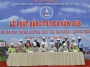 Construction of Da Nang – Quang Ngai Expressway accelerated