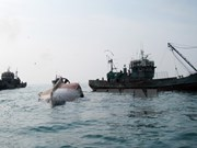 Indonesia sinks foreign boats to stop illegal fishing