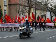 Overseas Vietnamese in Germany protest China's acts in East Sea