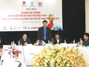 Vietnam's 2015 top 10 outstanding youths to be announced