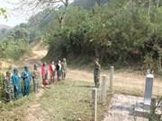 Ceremony to mark Vietnam-Laos border marker project
