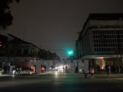 Lights off in Vietnam during Earth Hour