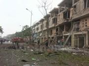 Bomb materials found at site of Hanoi blast