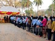Lao people elect deputies to new-tenure legislature