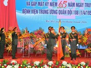 Military hospital gets credit for 65-year contribution