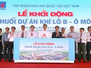 Prime Minister kicks off PetroVietnam's gas projects