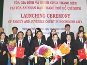 Family, juvenile court makes debut in HCM City