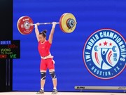 Weightlifters seek to secure Olympic berth in Uzbekistan