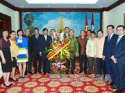 Foreign Ministry wishes Lao Embassy happy traditional New Year