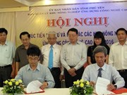 Phu Yen boosts cooperation in hi-tech agriculture