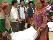 Lang Son distributes rice to needy households