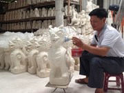Kim Lan commune gains foothold in ceramics market