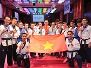 Vietnamese Taekwondo athletes bring home gold, bronze