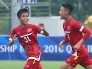 Vietnam placed in Group A at ASEAN U-16 tournament