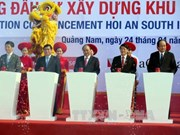 PM kicks off two major projects in Quang Nam