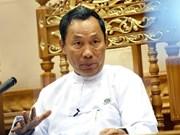 Myanmar's former ruling party relieves 17 senior members