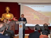 National Reunification Day celebrated in France